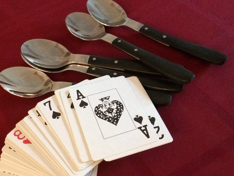 Playing Spoons Card Game My Thoughts On